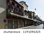 houses of the jewish quarter  ...   Shutterstock . vector #1191096325