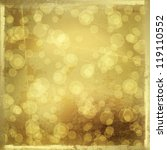 gold backdrop for greetings or... | Shutterstock . vector #119110552
