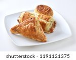 vegetable and chicken pastries... | Shutterstock . vector #1191121375