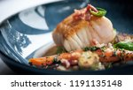 food art or culinary art is the ... | Shutterstock . vector #1191135148