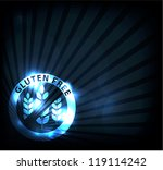 gluten free background ... | Shutterstock .eps vector #119114242