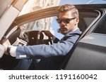 confident businessman.... | Shutterstock . vector #1191160042
