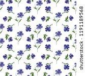 watercolor seamless pattern... | Shutterstock . vector #1191189568