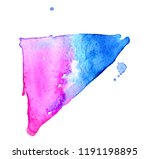 colorful abstract watercolor... | Shutterstock .eps vector #1191198895
