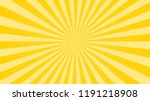 colorful background with radial ... | Shutterstock .eps vector #1191218908