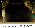 christmas or new year... | Shutterstock .eps vector #1191237478