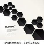 design template   eps10 simple... | Shutterstock .eps vector #119125522
