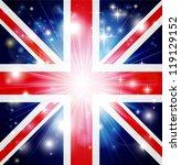 union jack flag of united...   Shutterstock .eps vector #119129152