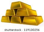 gold bars   Shutterstock . vector #119130256