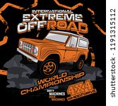 extreme off road championship ... | Shutterstock .eps vector #1191315112