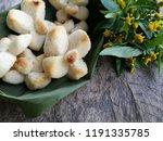 lam duan thai dessert. ancient... | Shutterstock . vector #1191335785