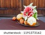 Beautiful Fruit Carving...