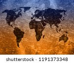 old map background | Shutterstock . vector #1191373348