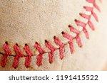 sports equipment old baseball... | Shutterstock . vector #1191415522