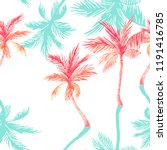 abstract tropical summer... | Shutterstock . vector #1191416785