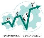 business illustration. the... | Shutterstock .eps vector #1191439312