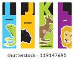 Bookmarks   Animal Alphabet I...