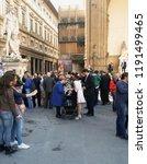 florence  italy   circa april... | Shutterstock . vector #1191499465