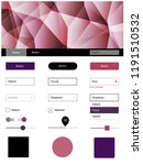 dark pink  red vector wireframe ...