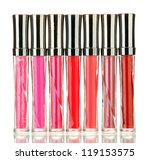 beautiful lip glosses  isolated ... | Shutterstock . vector #119153575