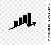 profits vector icon isolated on ... | Shutterstock .eps vector #1191562042