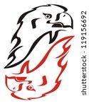 Eagle Flame Symbol