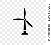 wind mills vector icon isolated ... | Shutterstock .eps vector #1191567232