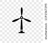 wind mill vector icon isolated... | Shutterstock .eps vector #1191567295