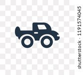 pickup truck vector icon... | Shutterstock .eps vector #1191574045