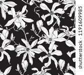 seamless pattern with hand... | Shutterstock .eps vector #1191609985
