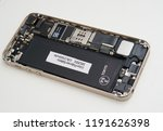 disassembly of smartphone | Shutterstock . vector #1191626398
