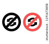 update sign ban  prohibition...