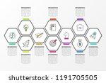 infographic design template....   Shutterstock .eps vector #1191705505