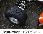 go kart tyre for wet track....   Shutterstock . vector #1191740818