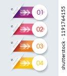 number option banners design ...