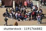 siena  italy   circa april 2016 ... | Shutterstock . vector #1191766882