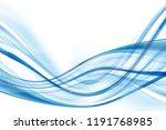 design trendy element. blue... | Shutterstock . vector #1191768985