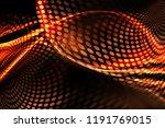 futuristic technology gold... | Shutterstock . vector #1191769015