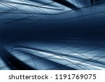 empty interior blue background. ...   Shutterstock . vector #1191769075
