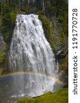 narada falls  mount rainier...   Shutterstock . vector #1191770728
