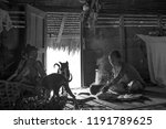indians of the mentawai tribe ... | Shutterstock . vector #1191789625