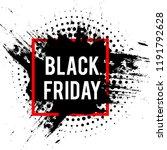 black friday sale banner... | Shutterstock .eps vector #1191792628