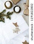 christmas handmade gift boxes... | Shutterstock . vector #1191822802
