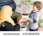 potting and planting | Shutterstock . vector #1191846952
