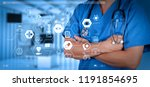 health care and medical... | Shutterstock . vector #1191854695