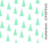 seamless vector christmas... | Shutterstock .eps vector #1191875122