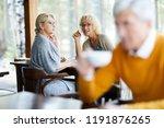 content attractive mature... | Shutterstock . vector #1191876265