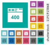 browser 400 bad request multi... | Shutterstock .eps vector #1191915868