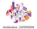 vector illustration. characters ... | Shutterstock .eps vector #1191950698