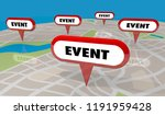 event party conference meeting...   Shutterstock . vector #1191959428